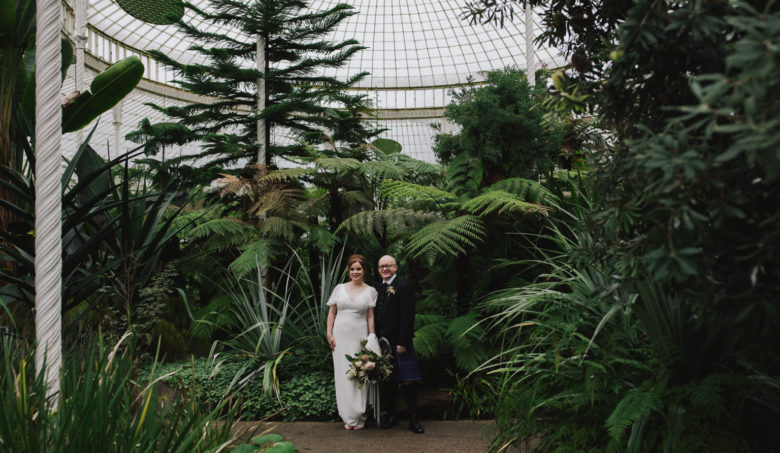 Glasgow Botanic Gardens Wedding Photography