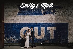 Creative, modern, honest Wedding Photography | Emily & Matt's Trinity Buoy Wharf Wedding