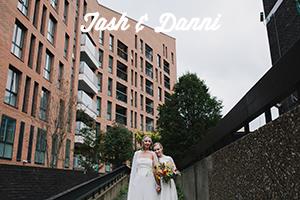 Modern, Creative London Wedding Photography | Shoreditch Tab Centre Wedding