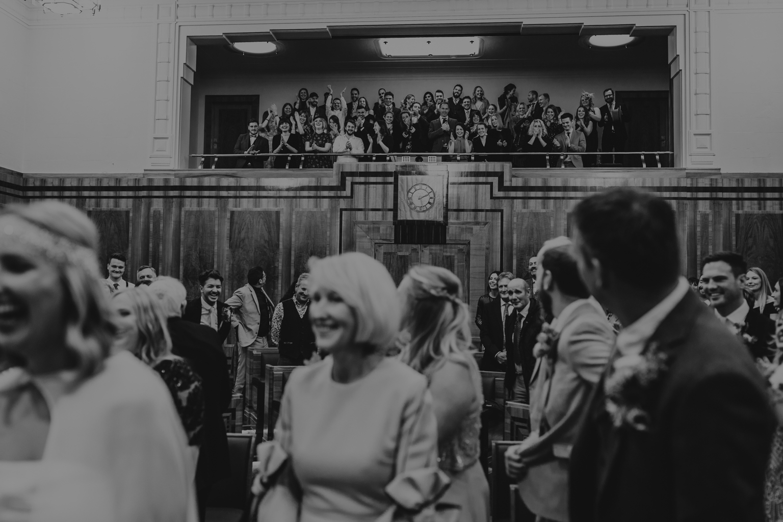 hackney town hall council chamber wedding by Lisa Jane Photography