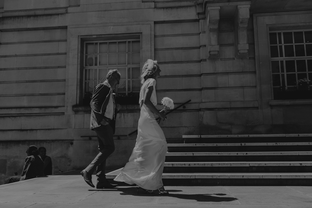 Hackney Town Hall Wedding by Lisa Jane Photography