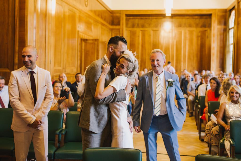 Hackney Tonw Hall Wedding by Lisa Jane Photography