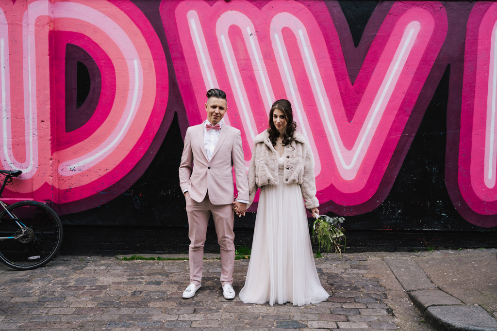 Modern london wedding photography